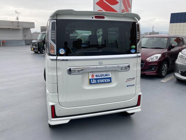 カスタム HYBRID XSターボ 2型 試乗車 サポカー(8枚目)