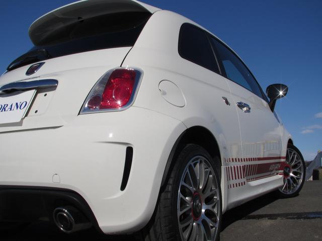 アバルト アバルト アバルト500 エッセエッセ 5速マニュアル ワンオーナー 赤レザーシート