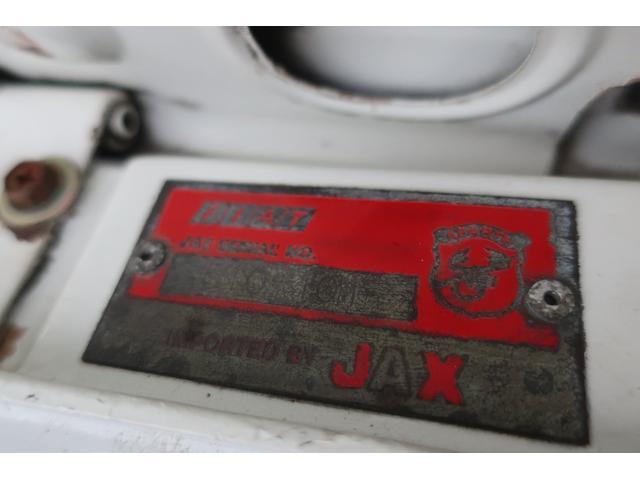 アバルト JAXディーラー車 ATSアルミ アバルトタイプ・ニューマフラー スパルコステアリング レカロシート ウエーバーキャブレター ニューディスクローター 永井電子プラグコード 車検・令和4年8月(55枚目)