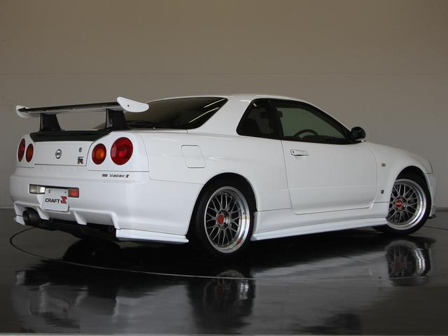 GT-R VスペックII 禁煙車 ワンオーナー BBSアルミ(2枚目)