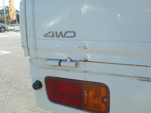 ダイハツ ハイゼットトラック スペシャル パワステ  ラジオ 4WD 5速マニュアル