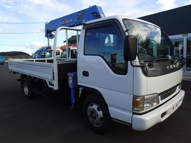 いすゞ エルフトラック 06121 5段クレーンラジコン 2tワイドロング