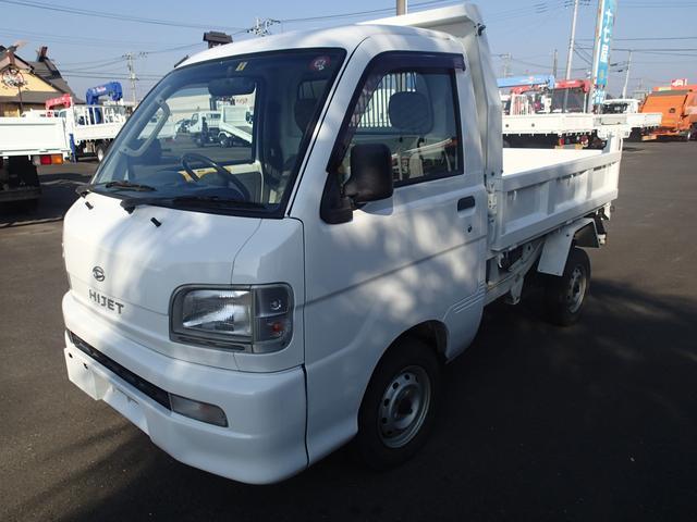 06129 軽PTOダンプ 4WD 極東製(2枚目)