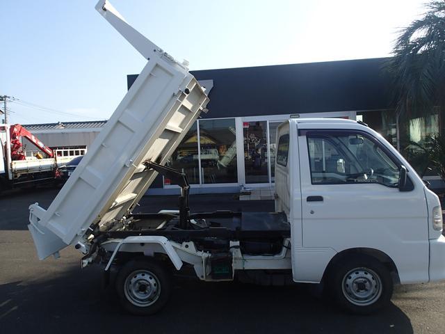 06129 軽PTOダンプ 4WD 極東製(11枚目)
