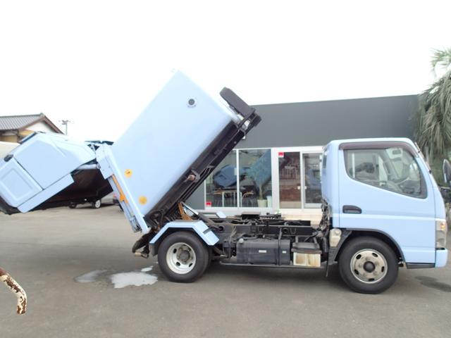 三菱ふそう キャンター 07118 2tパッカー車 モリタ製 巻込ダンプ式4.3立米