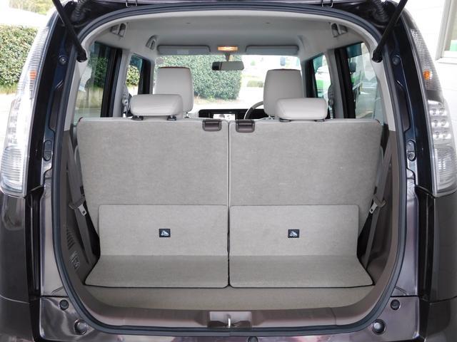 横幅の大きい荷物でもきちんと収納できるスペースがこのモコにはあります!