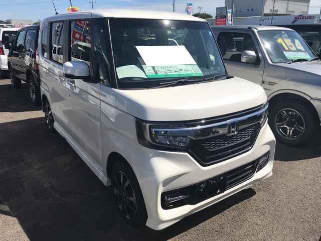 ホンダ N BOXカスタム G・L 軽自動車 LED 衝突被害軽減システム 整備付 AT