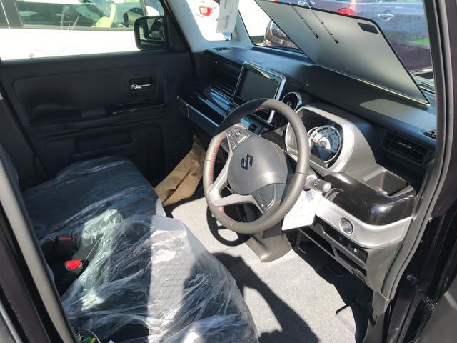 スズキ スペーシアカスタム ハイブリッドXS 軽自動車 AT 保証付 エアコン AW