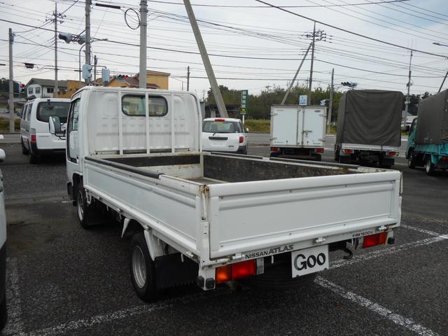 日産 アトラストラック ロング 5MT エアコン パワステ パワーウィンドウ