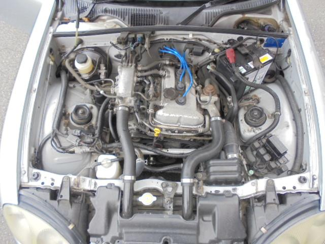 後期K6Aエンジン!タイミングチェーン式!異音やオイル漏れも無く、まだまだ元気に走ります!