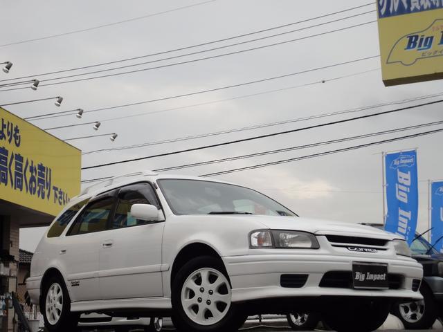 トヨタ スプリンターカリブ Sツーリング エアロスポーツリミテッド ナビ 記録簿