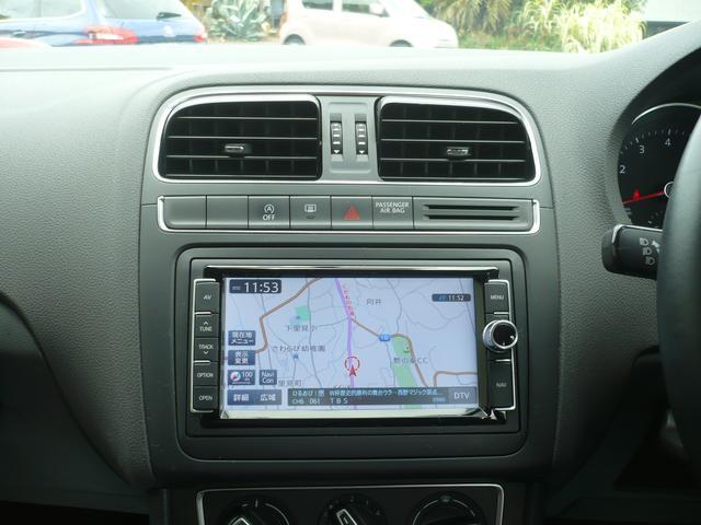 フォルクスワーゲン VW ポロ TSIコンフォートライン 純正SDナビTB Bカメラ ETC