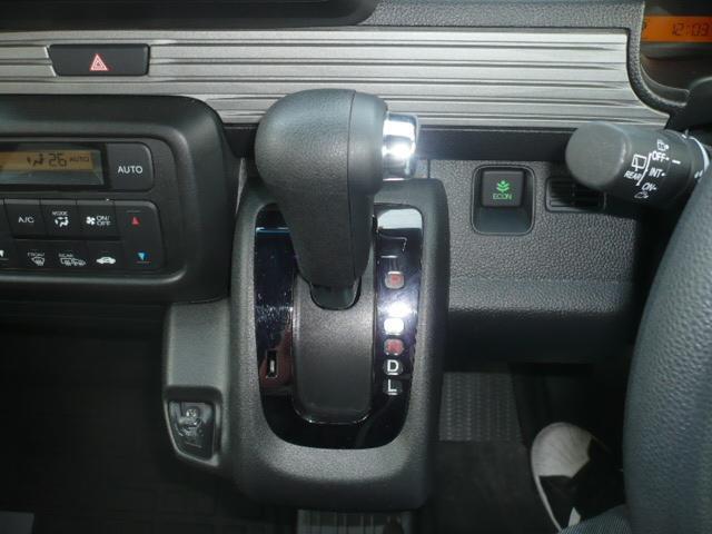 プラス スタイル ファン ホンダ センシング 4WD 衝突被害軽減ブレーキ 誤発進抑制機能 アダプティブクルーズコントロール LEDヘッドライト LEDフォグランプ  オーバーヘッドコンソール 社外SDナビ フルセグTV ドラレコ ETC バックカメラ(11枚目)