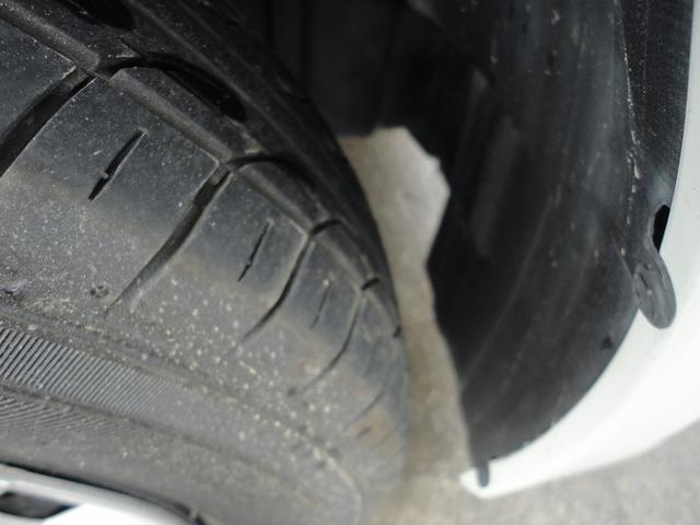 タイヤの溝もしっかりありますので安心ですね。
