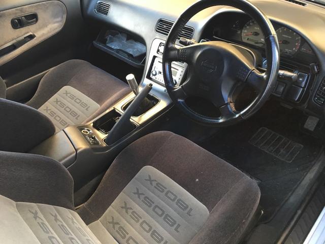 日産 180SX タイプX 5速マニュアル サンルーフ アルミ GTウィング