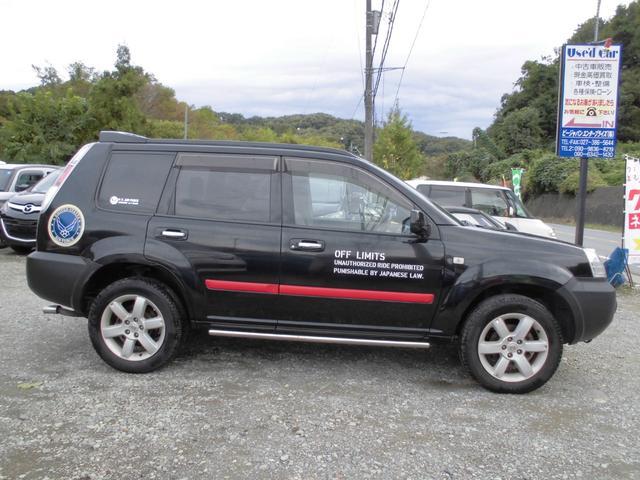 X タイミングチェーン パートタイム4WD ETC HID(6枚目)