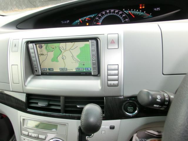 アエラス 4WD HDDTVナビ スマートキーETC HID(18枚目)