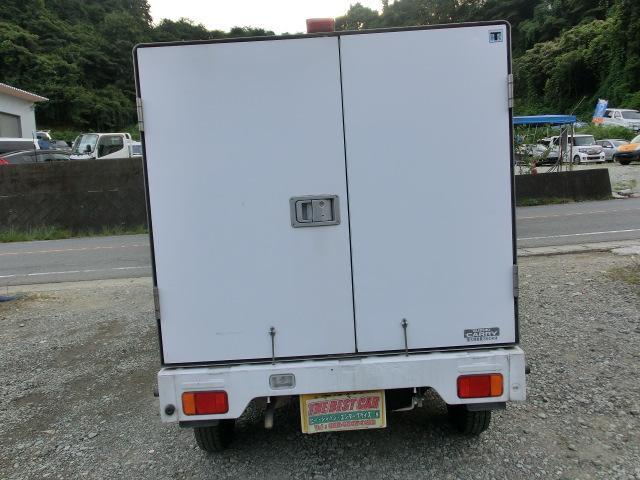 KCエアコン・パワステ 冷蔵車 5MTタイミングチェーン PS AC(5枚目)