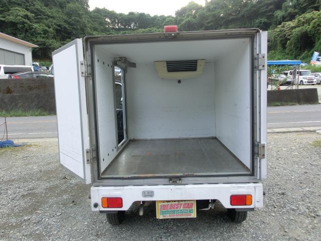 KCエアコン・パワステ 冷蔵車 5MTタイミングチェーン PS AC(10枚目)