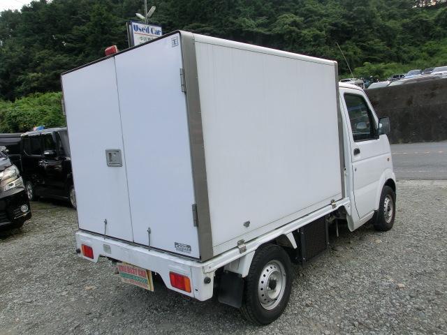 KCエアコン・パワステ 冷蔵車 5MTタイミングチェーン PS AC(37枚目)