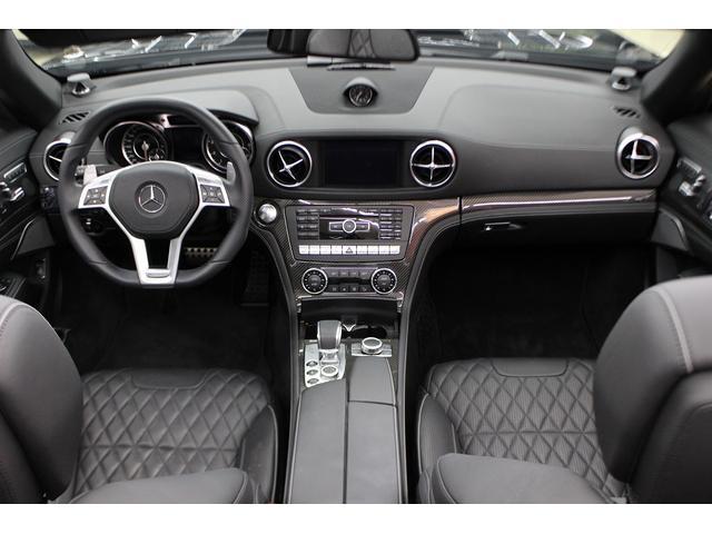 SL65AMG受注生産V12D車黒革DステッチHFアルミ(4枚目)