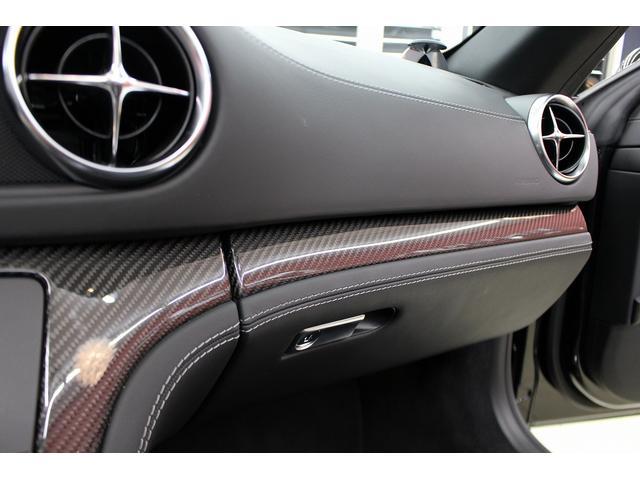 SL65AMG受注生産V12D車黒革DステッチHFアルミ(7枚目)