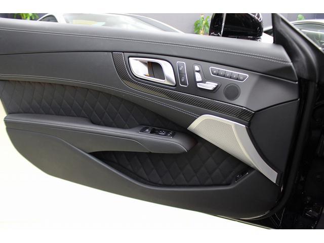 SL65AMG受注生産V12D車黒革DステッチHFアルミ(8枚目)