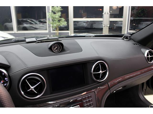 SL65AMG受注生産V12D車黒革DステッチHFアルミ(9枚目)