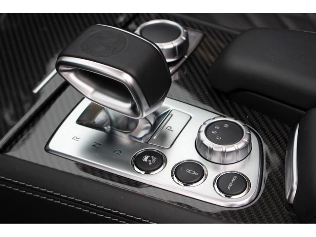SL65AMG受注生産V12D車黒革DステッチHFアルミ(11枚目)