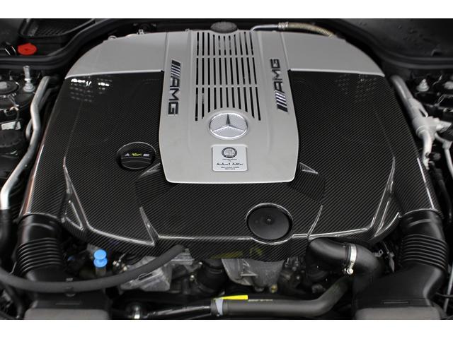 SL65AMG受注生産V12D車黒革DステッチHFアルミ(19枚目)