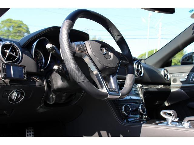 SL65AMG受注生産V12D車黒革DステッチHFアルミ(20枚目)