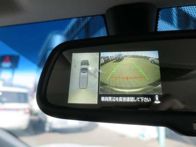 P 禁煙車 後側方検知警報システム 誤発進抑制 全方位カメラ 電動サイドステップ 電動パーキング 電動リヤゲート 衝突被害軽減ブレーキ クルーズコントロール 電動シート LEDヘッドライト 純正アルミ(13枚目)