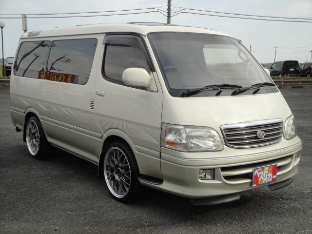 「トヨタ」「ハイエース」「ミニバン・ワンボックス」「茨城県」の中古車5
