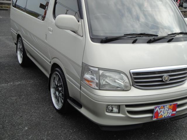 「トヨタ」「ハイエース」「ミニバン・ワンボックス」「茨城県」の中古車8