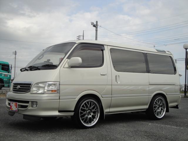 「トヨタ」「ハイエース」「ミニバン・ワンボックス」「茨城県」の中古車9