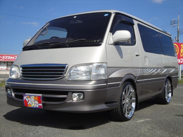 「トヨタ」「ハイエース」「ミニバン・ワンボックス」「茨城県」の中古車24