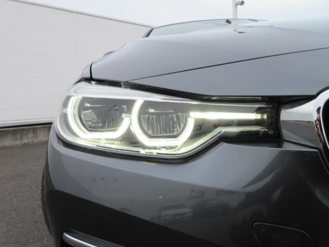 320iラグジュアリー 正規認定中古車 ワンオーナー LEDヘッドライト コンフォートアクセス 純正17インチ 純正HDDナビ レザーシート シートヒーター リアPDC バックカメラ ACC レーンチェンジウォーニング(2枚目)
