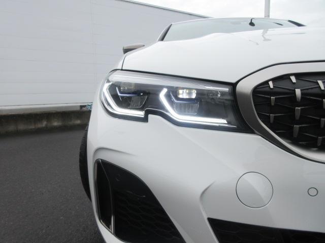 M340i xDrive 正規認定中古車 ワンオーナー レーザーライト レザーシート シートヒーター ヘッドアップディスプレイ 純正HDDナビ ジェスチャーコントロール リバースアシスト 純正19インチ ACC(2枚目)