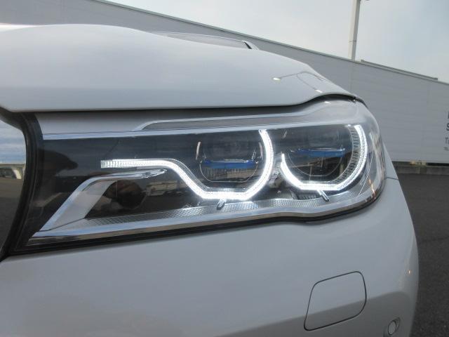 740d xDrive Mスポーツ レーザーライト 純正HDDナビ モカレザー シートヒーター シートエアコン ソフトクローズドア ACC PDC バックカメラ ヘッドアップディスプレイ ハーマンカードン 純正20インチ サンルーフ(3枚目)