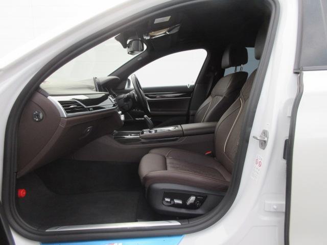 740d xDrive Mスポーツ レーザーライト 純正HDDナビ モカレザー シートヒーター シートエアコン ソフトクローズドア ACC PDC バックカメラ ヘッドアップディスプレイ ハーマンカードン 純正20インチ サンルーフ(20枚目)