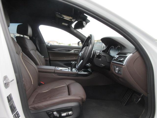740d xDrive Mスポーツ レーザーライト 純正HDDナビ モカレザー シートヒーター シートエアコン ソフトクローズドア ACC PDC バックカメラ ヘッドアップディスプレイ ハーマンカードン 純正20インチ サンルーフ(23枚目)