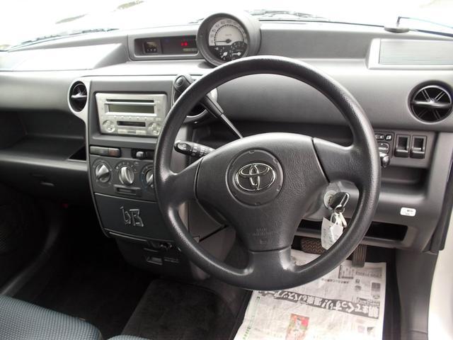 トヨタ bB S Wバージョン 車検31年5月 ベンチシート キーレス