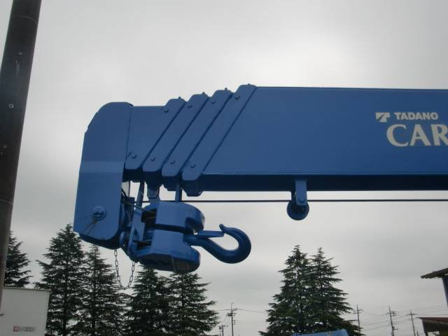 三菱ふそう キャンター 2.63t吊り5段クレーン ラジコン フックイン 積載2t