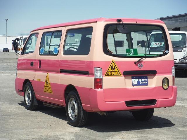 日産 キャラバンコーチ DX 幼児バス2.4G乗車定員2+12人 AT