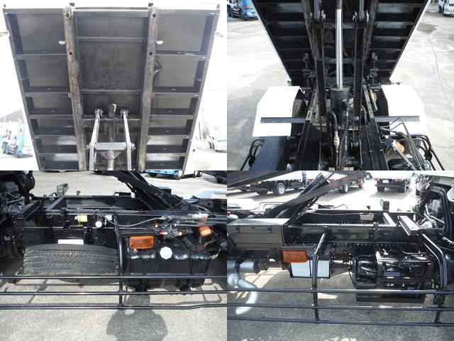 いすゞ フォワード 7.8D 増トン 7.3t積 新明和ローダーダンプ ラジコン