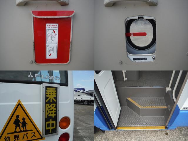 三菱ふそう ローザ 幼児車ターボ 園児バス 4.9D AT 大3人 幼児41人