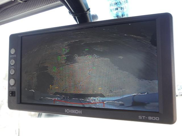 ICHIKOH製後方確認用モニター!後方の映像が常時確認出来るようになっています!