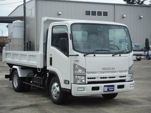いすゞ エルフトラック ローダーダンプ 積載3.65t 5.2D 6速MT 新明和