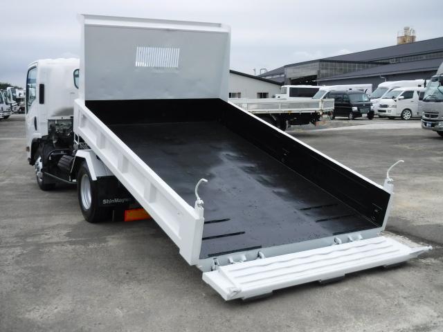 いすゞ エルフトラック ローダーダンプ 5.2DT 6MT 積載3.65t 新明和