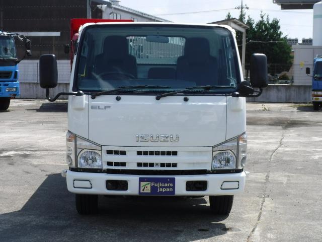 いすゞ エルフトラック ローダーダンプ 3.0DT 6速 積載3t 新明和 仕上げ済